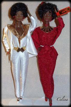 1980 Black Barbie Original & Reproduction!
