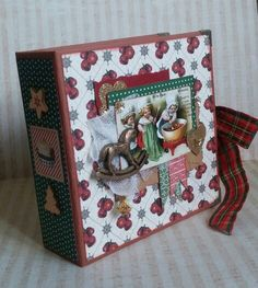 My Mini Album *Vintage Christmas Time...*  makaart14.blogspot.com