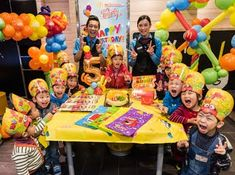 Best Birthday Party Places, Mcdonalds Birthday Party, Party Places For Kids, Birthday Party Venues, 4th Birthday Parties, Happy Birthday, Birthday Balloon Decorations, Birthday Balloons, Creative Birthday Ideas
