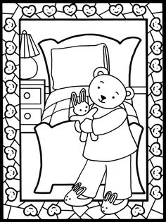 Goodnight Stained Glass Coloring Book Dover Publications