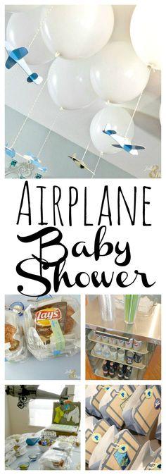 Airplane Baby Shower