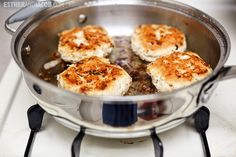 Paleo Recipe. coconut almond chicken patties recipe. paleo diet meals