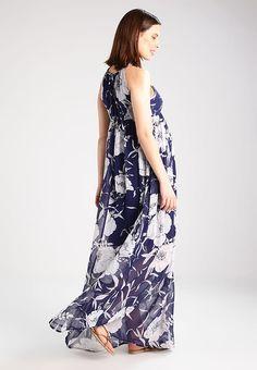 Kleding Anna Field MAMA Maxi-jurk - peacoat/cloud dancer Donkerblauw: € 49,95 Bij Zalando (op 6-4-17). Gratis bezorging & retournering, snelle levering en veilig betalen!