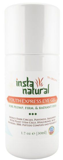Eye Cream For Dark Circles, Puffiness, Wrinkles & Bags - 1.7 OZ | Best Under Eye Gel Treatment Solution For Crows Feet, Dry Skin, Fine L...