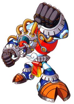 Blizzard Buffalo, known as Frozen Buffalio (フローズン・バッファリオ Furōzun Baffario) in Japan, is a bison-based Maverick in Mega Man X3. In reality, though, he's really a peace-loving artist, even with the Maverick Virus. So he is (for all intents and purposes) another innocent victim of the Maverick Wars. His original occupation was as an ice sculptor for a ski resort. Like Flame Mammoth before him, his room is much larger, requiring X to damage him while he's onscreen. When his health is depl...