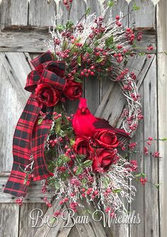 Cardinal Christmas Wreath, White Christmas Swag, Christmas Wreath, Christmas Swag, Christmas Door Hanging, Holiday Wreath, Holiday Swag, Winter Wreath, Winter Swag, Cardinal Decor Let Heaven and Nature Sing ❤️ Now make your door/entry/mantel dazzling with this gorgeous wreath!!! Made