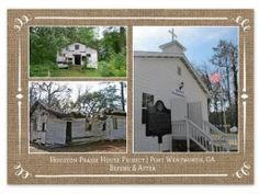 A Civil-War era African-American praise house and cemetery that was originally part of the area Savannah River Plantations