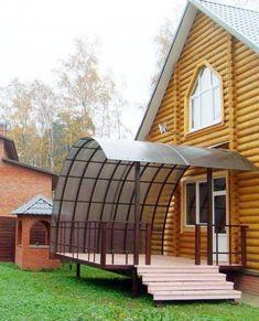 Как построить крыльцо к дому? Backyard Projects, Ikea, Sweet Home, Construction, House Styles, Interior, Outdoor, Cabins, Design
