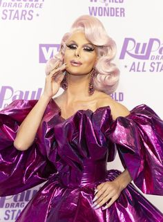 """Trinity the Tuck on Her Divisive Drag Race Win: """"We Should Be Celebrating"""" Trinity Taylor, Find My Match, Rupaul Drag Queen, Pageant, Most Beautiful, Wigs, Drag Queens, Racing, Hollywood"""