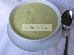 Les secrets de cuisine par Lalla Latifa - Velouté de chou-fleur et à la courgette au Thermomix