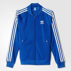 adidas - Supergirl Track Jacket Eqt Blue S16 AJ8428
