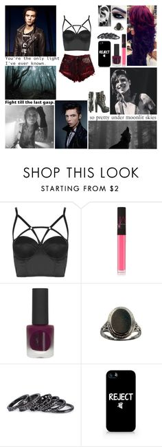 """""""▼ Tag In D! ▼ We used to have a light now it's too dark to shine. Now we're just passing by, two shipwrecks in the night. ▼"""" by blueknight ❤ liked on Polyvore featuring Topshop, NARS Cosmetics, Pieces, Samsung, Luichiny and country"""