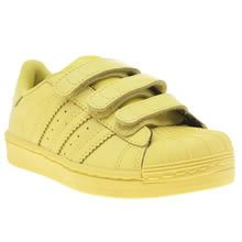 adidas superstar yellow junior