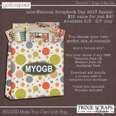 2013 iDSD Make Your Own Grab Bag - Digital Scrapbooking