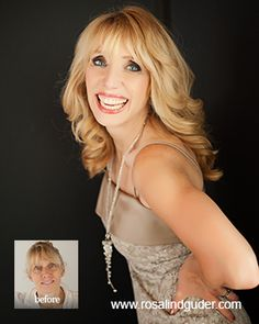 Jeannette Before After Www Rosalindguder Glamour Photography Event