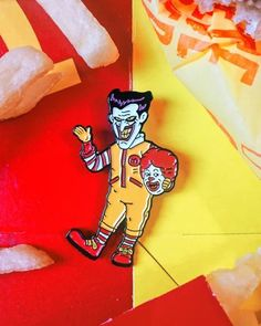 Ronald Unmasked Pin