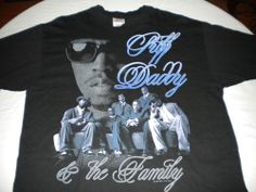 Vintage 1997 Puff Daddy No Way Out Tour T-Shirt Sz XL 90's Rap Mase The Lox RARE