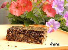 KataKonyha: Paleo mákos, banános pite Paleo, Minion, Banana Bread, Recipes, Food, Poppy, Recipies, Essen, Beach Wrap