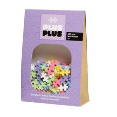 PlusPlus puslebrikker fås både i midi og i mini i mange forskellige størrelser.  Fås i farven: Neon, Pastel og Basic.