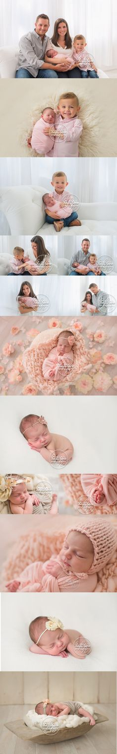 newborn-baby-girl-in-the-flowers-and-sibling-portraits-with-big-brother