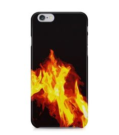 Fire with Dark Background 3D Iphone Case for Iphone 3G/4/4g/4s/5/5s/6/6s/6s Plus - ARTXTR0065 - FavCases