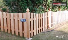 Pointed Top Fence Posts. All Fence Pics | Minneapolis St. Paul | Midwest Fence