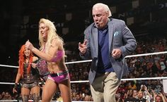 WWE SmackDown – Ric Flair Surprises Charlotte To Celebrate Her Championship Win! Ring Of Honor, Wwe Stuff, Ric Flair, Space Mountain, Wrestling Superstars, Charlotte Flair, Professional Wrestling, Wwe Divas, Memphis