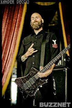 Five Finger Death Punch, Chris Kael. He's so awesome.
