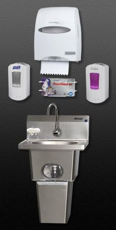 hand sink restaurant training handwashing - Google Search