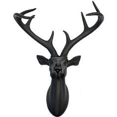 Superb Buy Black 3D Stagu0027s Head At Argos.co.uk   Your Online Shop For