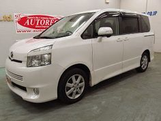 Japanese vehicles to the world: 19576A1N7 2008 Toyota Voxy Z for Tanzania to Dar e...