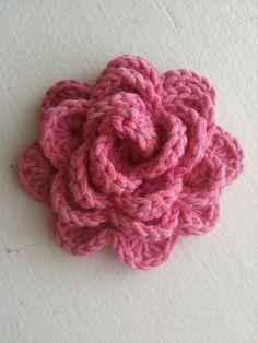 My favorite crochet flower pattern.