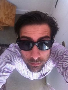 db89bf3b6e Jason Schwartzman shows off the frames he designed for Lookmatic