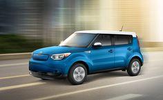 2015 Soul EV - Enjoy the thrill of 210 lb.-ft. of instant torque. No revving up needed.