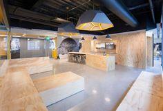 MIT Beaver Works by Merge Architects, Cambridge   Massachusetts workshop educational