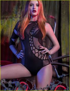 Bella Thorne Is Red Hot in VVV Magazine Cover Feature: Photo #939420. Bella Thorne strikes a pose on the cover of VVV magazine's Spring/Summer 2016 issue, on newsstands soon. The 18-year-old actress was one of four cover girls…