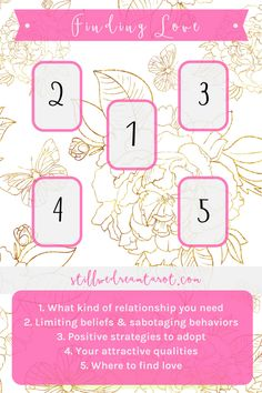 A tarot spread for finding true love, plus love advice on the blog.