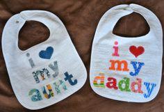 Custom Baby Bib Personalized Bib Applique Bib Boutique Baby Shower Gift Baby Name Bib