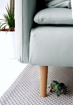 Soderhamn sofa with Bailey Legs