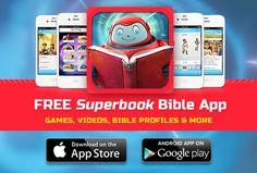 Superbook Online Kids Bible & Bible App for Children and Families Bible Words, Bible Verses, Animated Bible, Bible App, Bible For Kids, Spiritual Awareness, Daily Bible, Game App, Children And Family