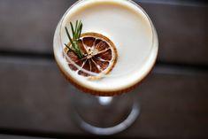 A picturesque blood orange #cocktail at #Bangkok Soi Convent classic, Vesper.