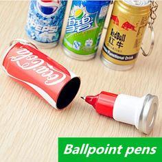 Telescopic ballpoint pen Kawaii Stationery ballpen Ring patins caneta Novelty gift zakka Office accessories school supplies 6206-in Ballpoin...