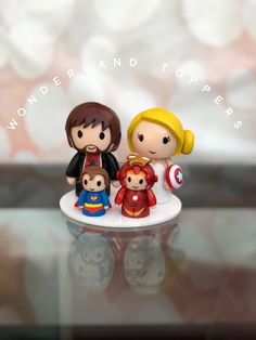 Superhero Cake Toppers, Christmas Ornaments, Holiday Decor, Christmas Jewelry, Christmas Decorations, Christmas Decor