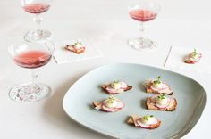 Asparagus Canapés Recipe | Yummly