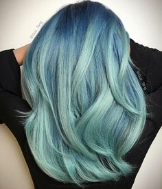 Pretty Pastel Hair Colors to Dye For pastel blue hair