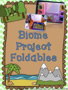 Biome Project Foldables $