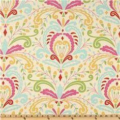 CeCe's room- kumari gardens via fabric.com