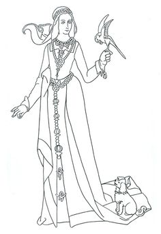 1000 Images About Coloriage Medieval Chevaliers