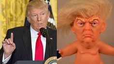 dd18b41907ec601e19891ac057340339 dolls digital marketing someone made a horrific trump troll doll with a weird little troll