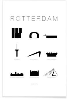 Rotterdam, World Cities, Poster Wall, Nye, Netherlands, Cool Pictures, Graphic Design, My Love, Prints